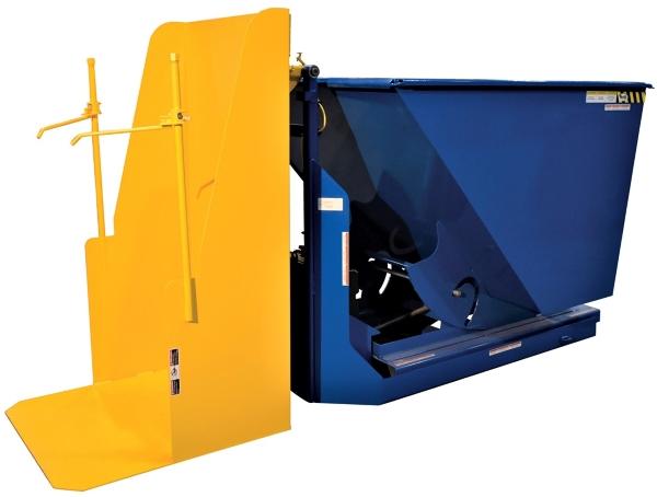 Vestil TCD-HLD-400-DLX Trash Can Dumper with Hopper
