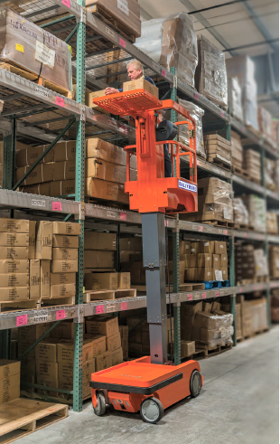 Ballymore REBEL-10 Powered Drive Electric Order Picker