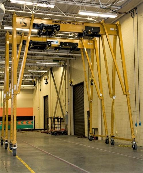 Spanco T-Series Portable Gantry Crane