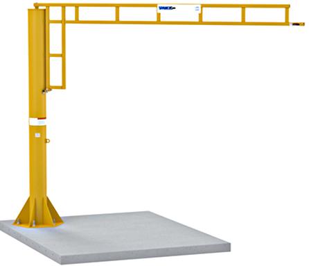 Spanco 605-Series Foundationless Jib Crane