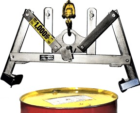 Morse 90-SS Stainless Steel Overhead Drum Lifter