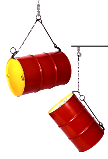 Morse 42 Heavy Duty Horizontal and Vertical Drum Lifters