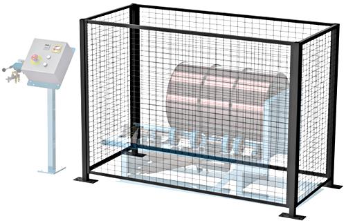 Morse Gated Enclosure With Door Interlock