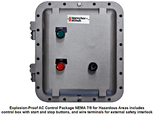 Explosion-Proof Control Package