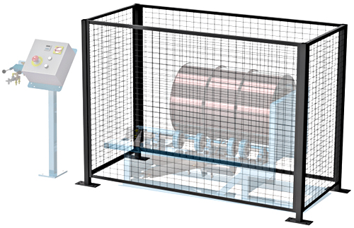 Morse GEK-456-3 Gated Enclosure With Door Interlock