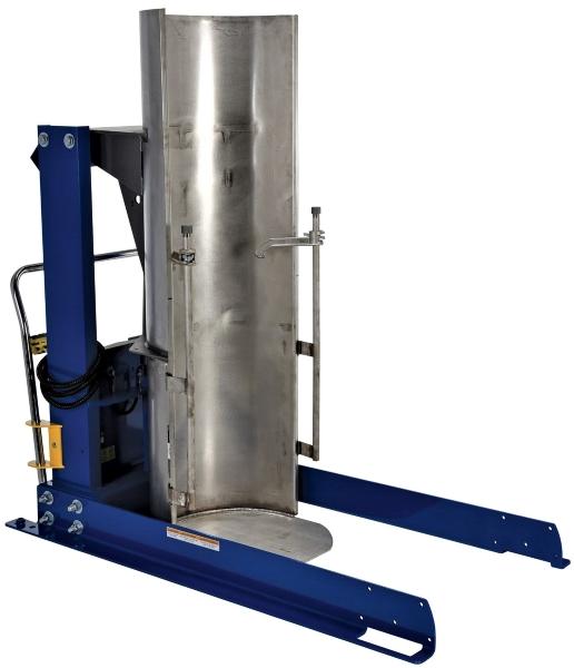 Vestil HDD-48-7-S-SSC Stainless Steel Drum Dumper