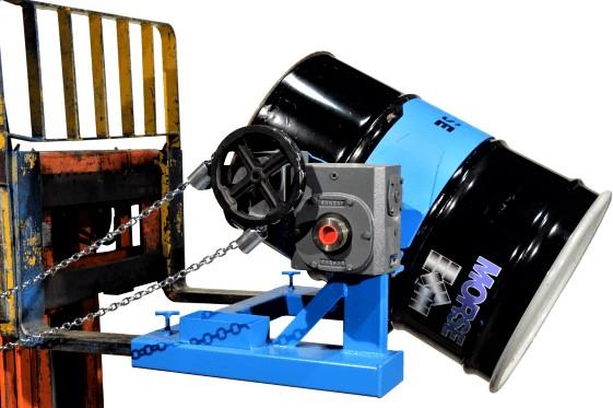 Morse 285A-GR Forklift Drum Dumper