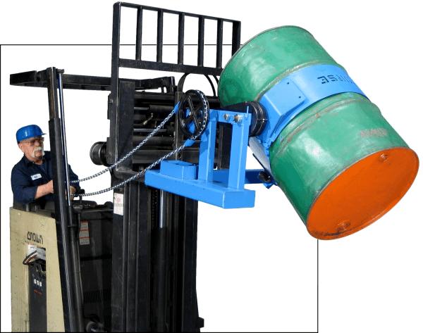Morse 285G Forklift Drum Handler
