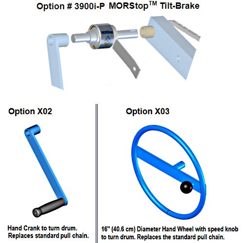 Morse 3900i-P, X02-285GR, & X03-285GR