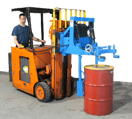 Morse 289C Carriage-Mounted Drum Stacker