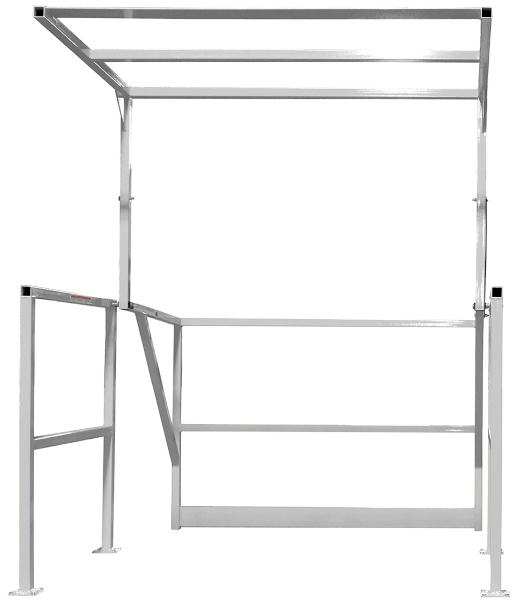 Vestil MEZZ-200-A Aluminum Mezzanine Safety Gate