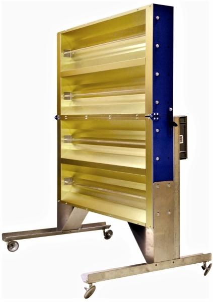 Vestil PIHP-4 Portable Infrared Panel Heater