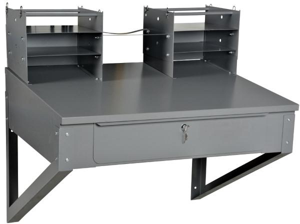 Vestil SHOP-DW Wall-Mounted Shop Desk