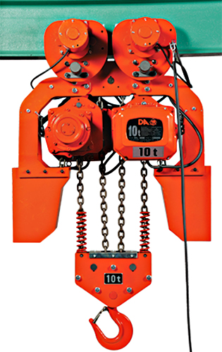 Elephant DAM-10 Electric Chain Hoist with Trolley