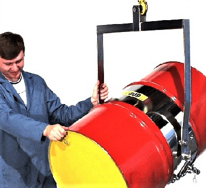 Morse 85i-SS Stainless Steel Overhead Drum Lifter