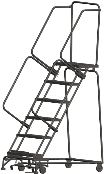 Ballymore 063214P 6 Step Rolling Safety Ladder