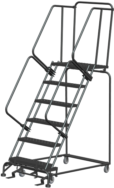 Ballymore 063221P 6 Step Rolling Safety Ladder