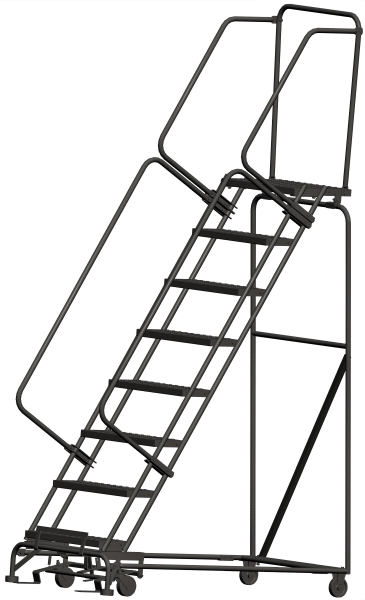 Ballymore 083214P 8 Step Rolling Safety Ladder