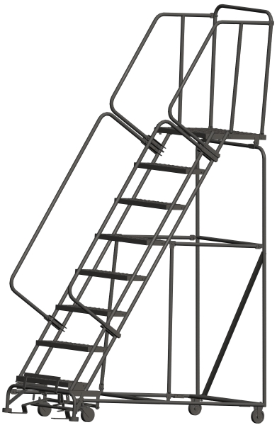 Ballymore 083221P 8 Step Rolling Safety Ladder