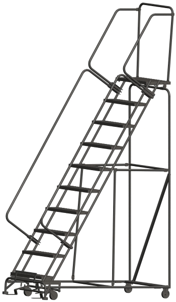 Ballymore 103214P 10 Step Rolling Safety Ladder