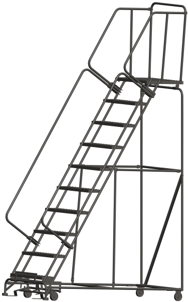 Ballymore 103221P 108 Step Rolling Safety Ladder