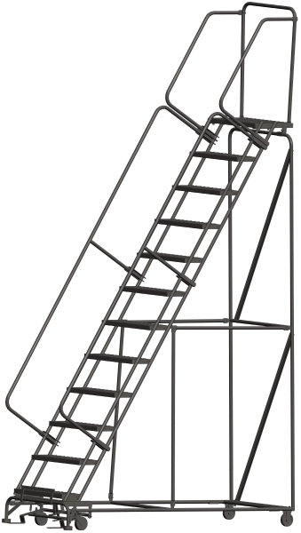 Ballymore 123214P 12 Step Rolling Safety Ladder
