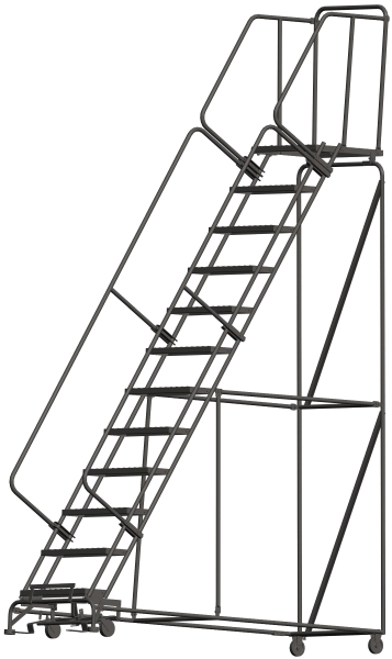 Ballymore 123221P 12 Step Rolling Safety Ladder
