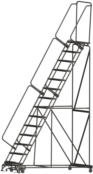 Ballymore 144014P 14 Step Rolling Safety Ladder