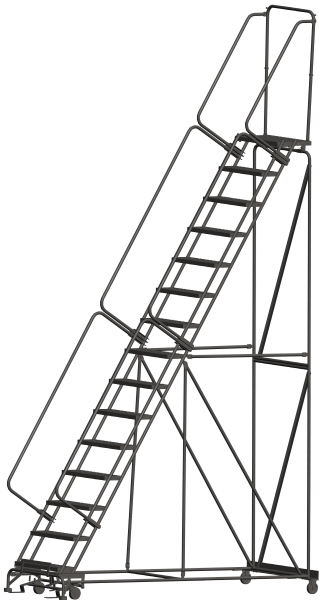 Ballymore 154014P 15 Step Rolling Safety Ladder