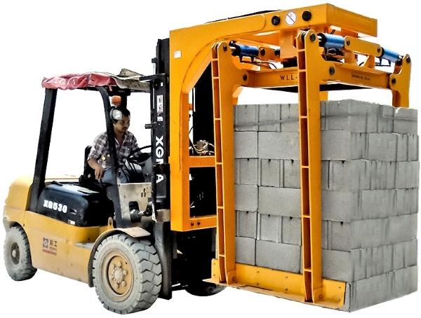 Aardwolf HBSG1500 Hydraulic Brick Grab