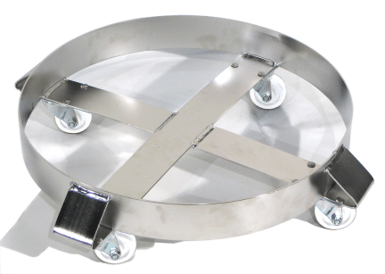 Morse 14-SSC Stainless Steel Drum Dolly