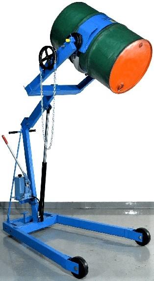 Morse 400A-96 Manual Drum Dumper