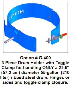 Option G400 3 piece Drum Holder