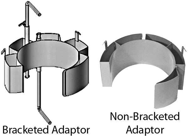 Small Diameter Drum Adaptors