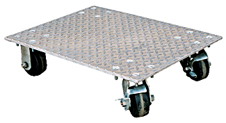 Vestil VPLDO/A-2430 Aluminum Plate Dollies