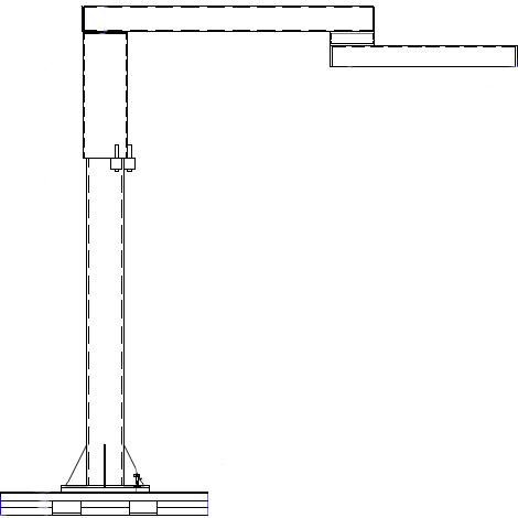 ALL Lift MC-FAR Portable Articulating Jib Crane