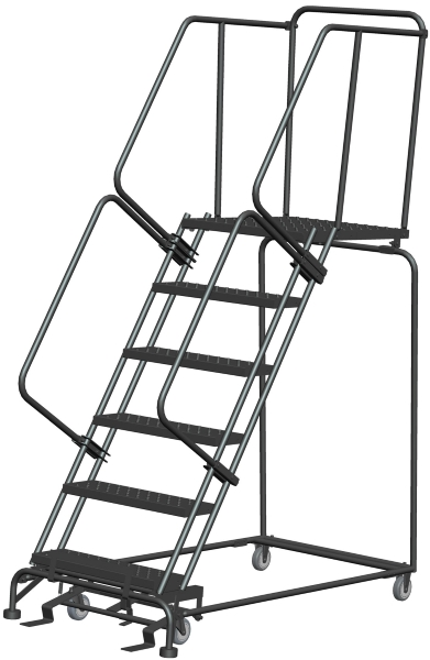 Ballymore 063228P 6 Step Rolling Safety Ladder