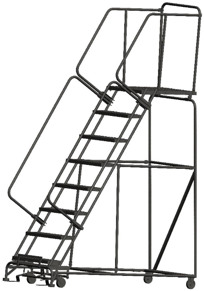 Ballymore 083228P 8 Step Rolling Safety Ladder
