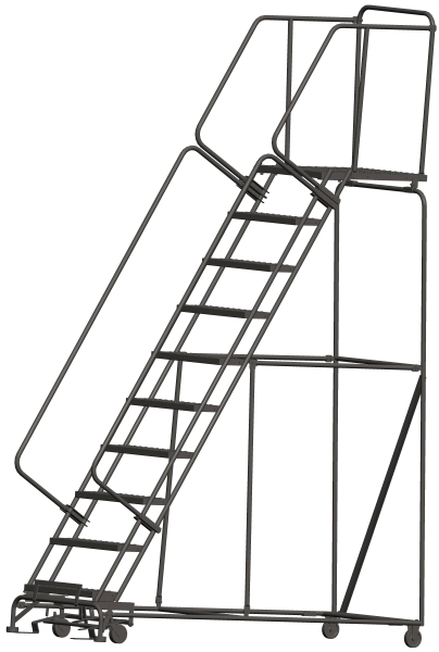 Balymore 103228P 108 Step Rolling Safety Ladder