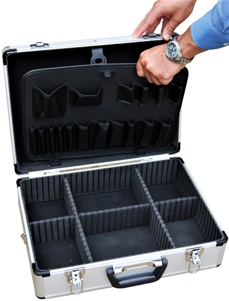 Vestil CASE-1814 Aluminum Tool Case