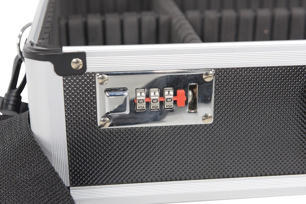 Vestil CASE-1814-CL-BK with Combination Lock