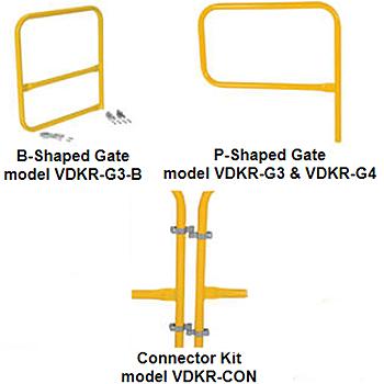 Vestil VDKR Gate Options