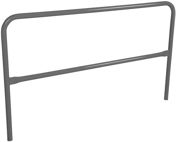 Vestil VDKR-6-GYSG Safety Railing