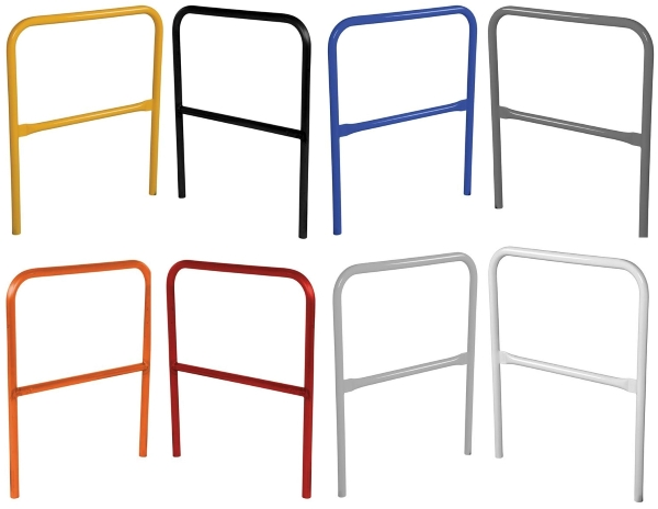 Available colors for VDKR Steel Safety Railings