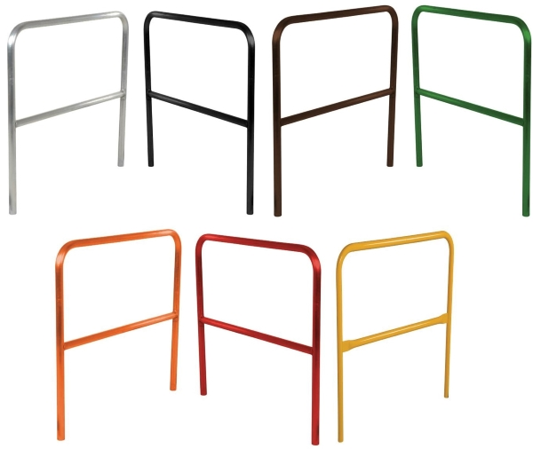 Available colors for ADKR Aluminum Safety Railings
