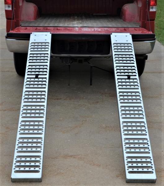 Vestil RAMP-72 Steel Pickup Truck Ramps