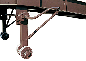 Manual Hand Crank w/ Steel Wheels