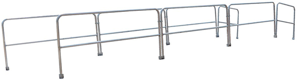 Optional Aluminum Handrails