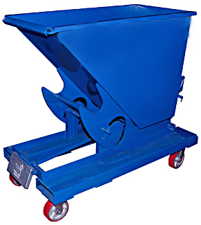 Vestil D Hopper With Casters