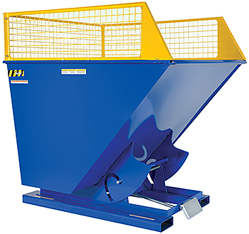 Vestil Hopper With Extensions